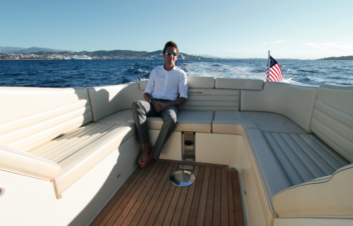 Chris-Craft Corsair 32 Heritage - Banquette