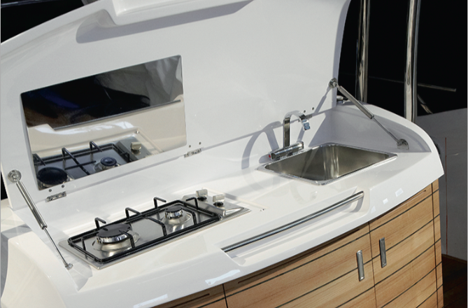 Sessa Key Largo 34 HB - Cuisine