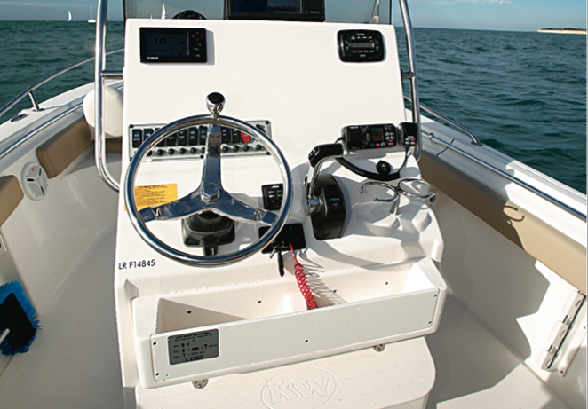 Key West 219 FS - Console