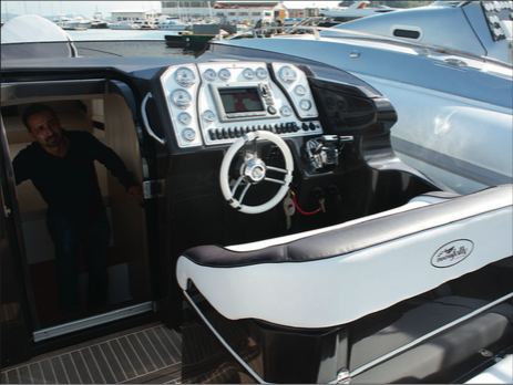 Nuovajolly Prince 35 Sport Cabin - Console