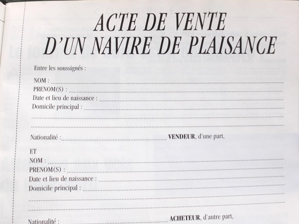 Acte De Vente Info