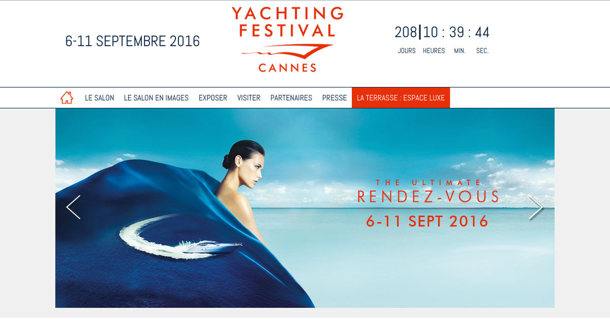NEW SITE CANNES YACHTING