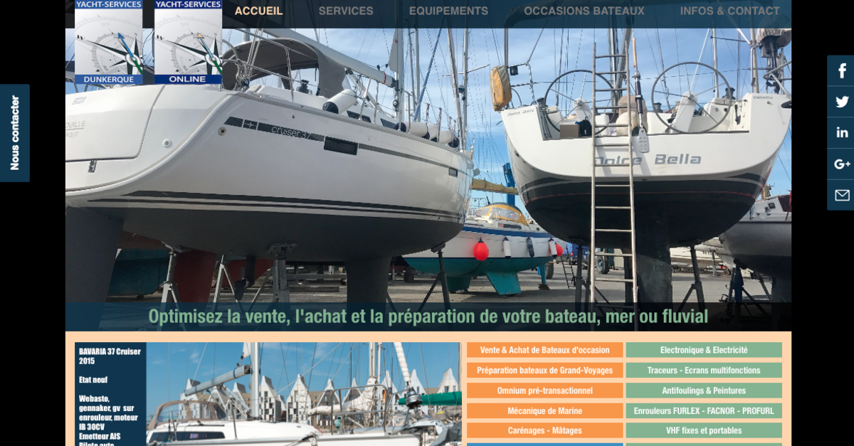 YACHTS SERVICES DUNKERQUE