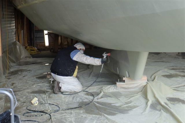 quil sagisse des uvres vives mortes ou bien encore du pont un traitement est ncessaire avant de peindre une surface en aluminium